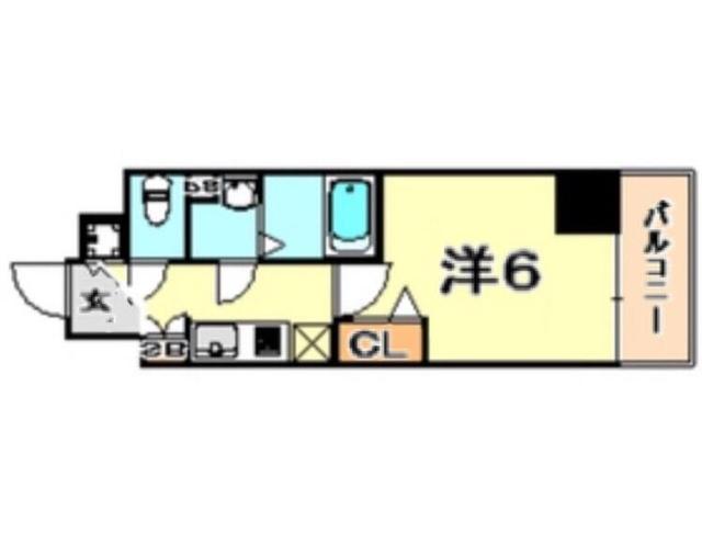 トラスト三宮3【JR三ノ宮駅まで徒歩8分♪ 洗面台独立♪】写真20