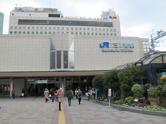 トラスト三宮3【JR三ノ宮駅まで徒歩8分♪ 洗面台独立♪】写真2