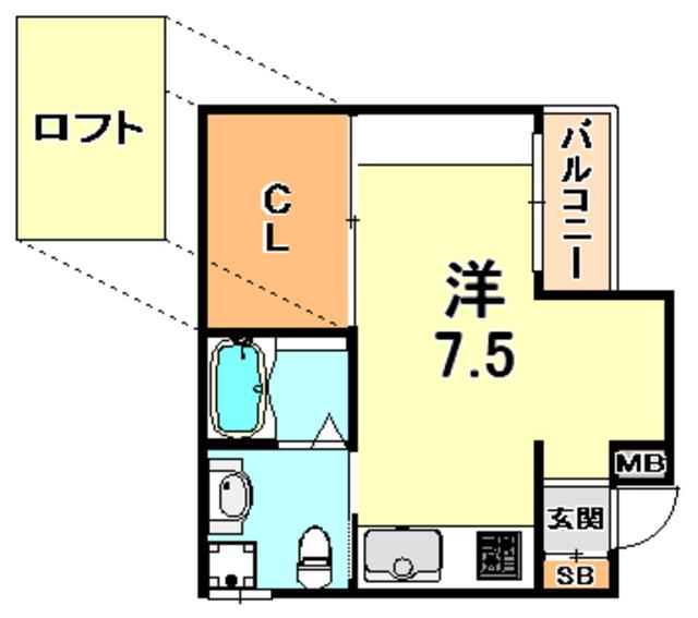 トラスト灘2【JR灘駅徒歩6分♪ デザイナーズ♪】写真17