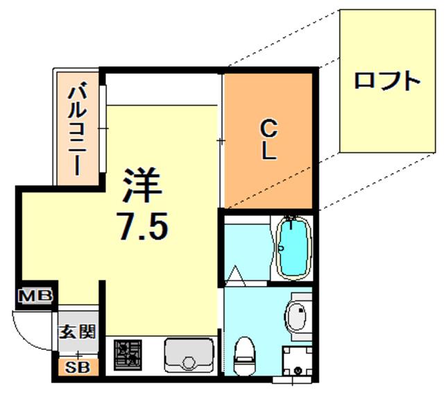 トラスト灘2【JR灘駅徒歩6分♪ デザイナーズ♪】写真13