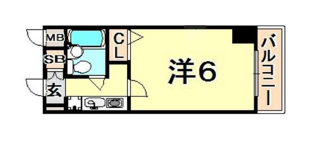 トラスト三宮10【貿易センター駅徒歩3分♪コンビニすぐ】写真17