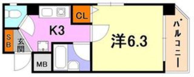 トラスト三宮14【✨三宮徒歩5分で角部屋☺!?✨】写真19