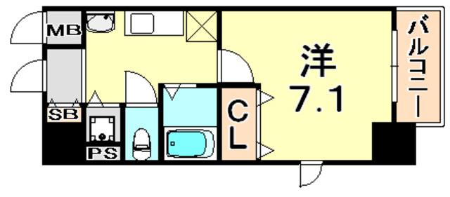 トラスト神戸5【JR神戸駅徒歩5分♪神戸地方裁判所前★】写真18