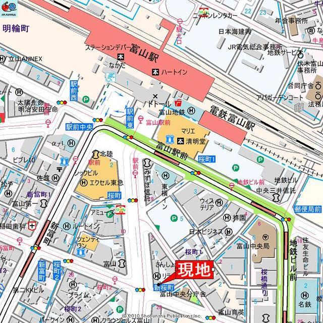 アパマートマンスリー富山駅前 桜町 1R写真5