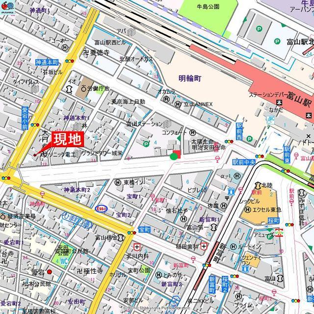 アパマートマンスリー富山駅西 神通本町 2DK写真2