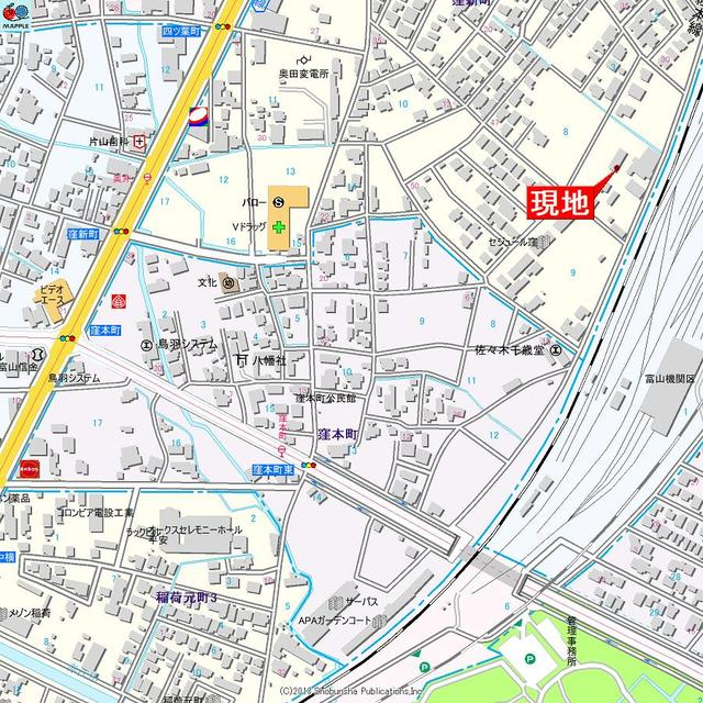 アパマートマンスリー富山駅北 窪新町A 2DK写真3