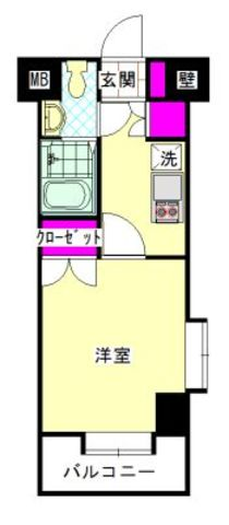 さくらす県庁・九大病院前2【独立洗面台!バストイレ別!】 写真3