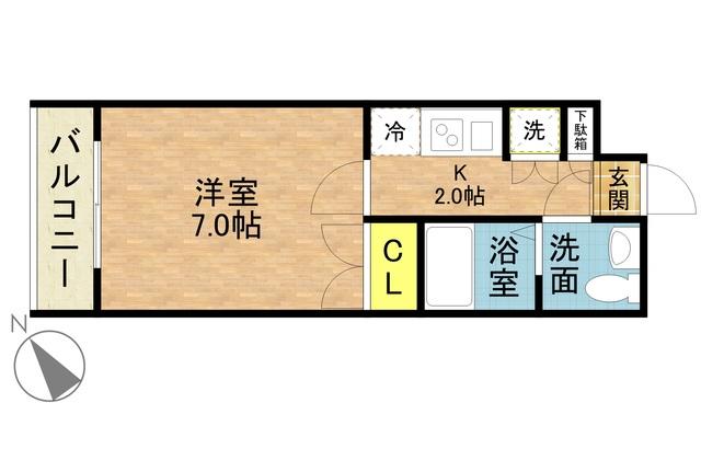 さくらす中洲川端8【バス・トイレ別!Wi-Fi無料♪】写真17