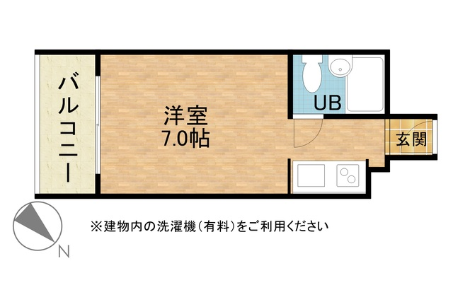 さくらす天神8【地下鉄「天神」まで徒歩7分!Wi-Fi無料】写真3