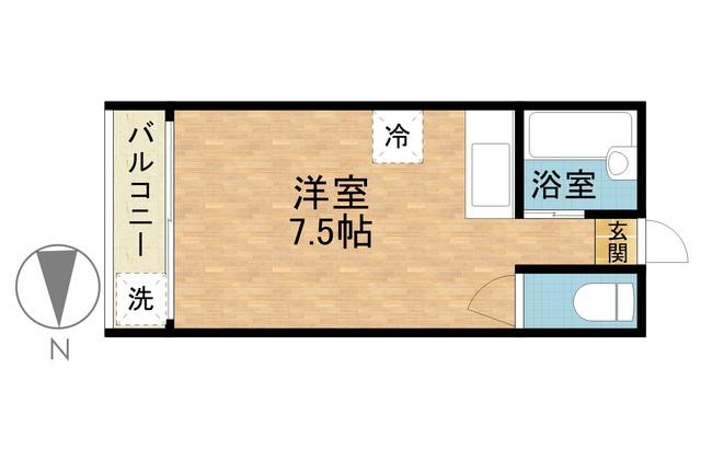 さくらす西新2【西新駅から徒歩7分!Wi-Fi無料!】写真20