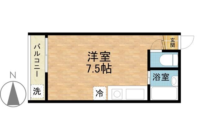 ☆除菌清掃済☆ さくらす西新3【Wi-Fi無料!】写真20