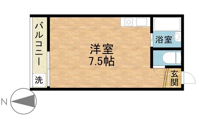 ☆除菌清掃済☆ さくらす西新5【Wi-Fi無料!】写真20