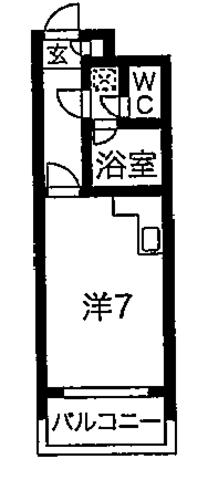さくらす博多駅19【Wi-Fi無料!バス・トイレ別!】写真3