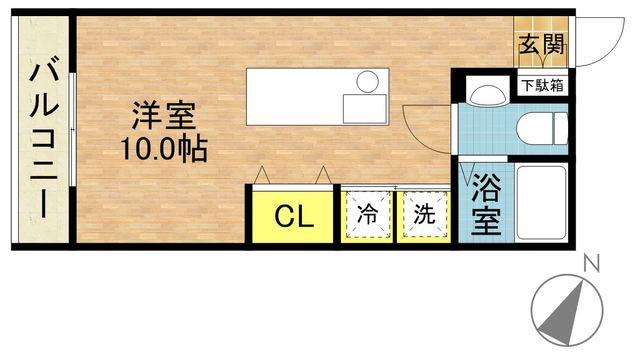 さくらす千代県庁口1【独立洗面台あり!バス・トイレ別!】 写真17