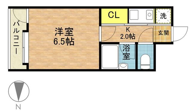 ☆除菌清掃済☆ さくらす祇園6【Wi-Fi無料!】写真15