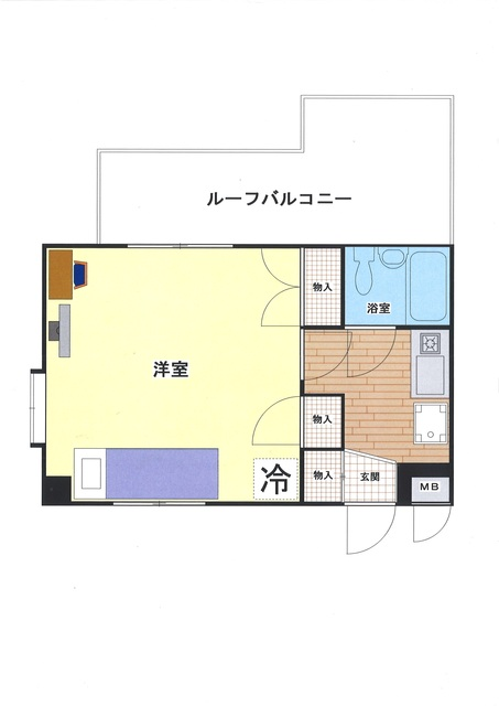 ウィークリー・マンスリー金沢八景 5階の写真